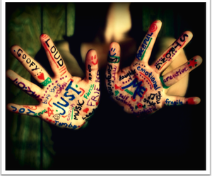 hands, just me, and me image
