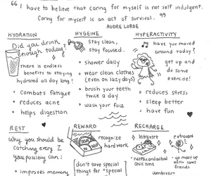 self care, self love, and quotes image