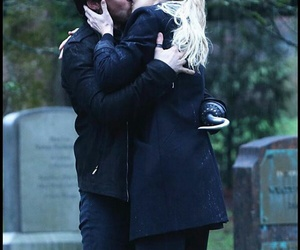 captain hook, he's back, and emma swan image