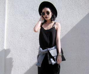 girl, black, and fashion image