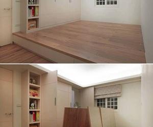 room, design, and storage image