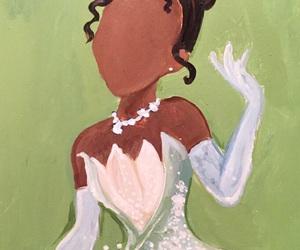 black girl, disney princess, and the Princess and the frog image