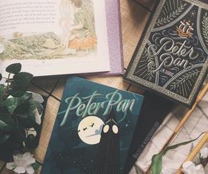 art, books, and peter pan image