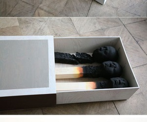 art, ashes, and matches image