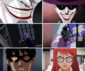 batgirl, batman, and Gotham image