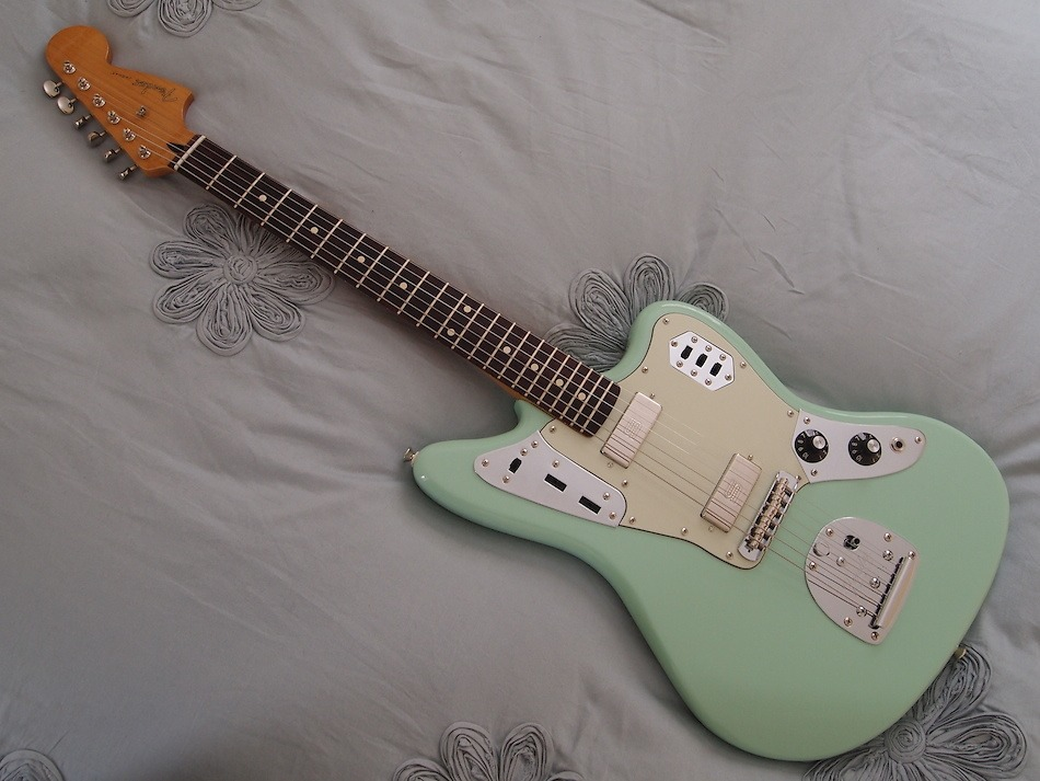 cool, pastel, and guitar image