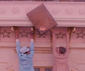movie, pink, and wes anderson image