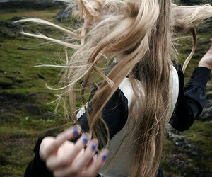 hair, nature, and iceland image