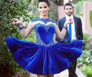 dress, prom gown, and prom dress image