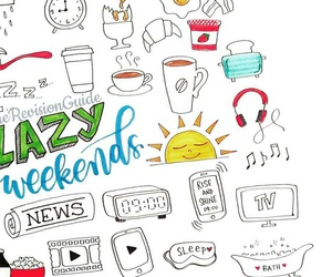 beautiful, doodle, and weekend image