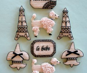 Cookies, eiffel tower, and paris image