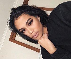 beauty, makeup, and mood image