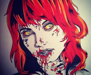 hayley williams, paramore, and zombie image