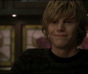 ahs, tate, and evan peters image