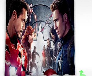 captain america, civil war, and shower curtain image