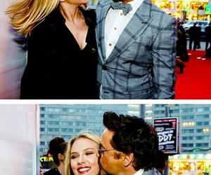 Avengers, robert downey jr, and Scarlett Johansson image