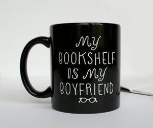 book, bookshelf, and boyfriend image