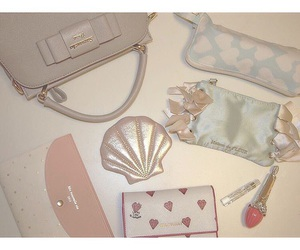 kawaii, what's in my bag, and cute image