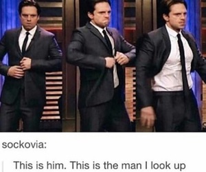 funny and sebastian stan image