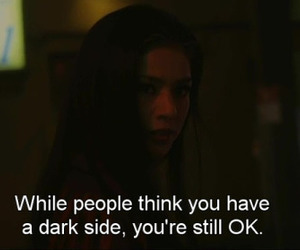 dark side, people, and quote image