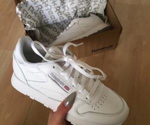 shoes, reebok, and nails image
