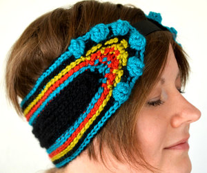 colorful, crocheting, and inspired image