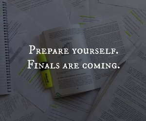 exam, study, and finals image
