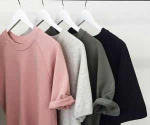 fashion, pink, and black image