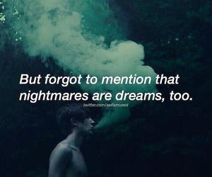 Dream, dreams, and nightmares image