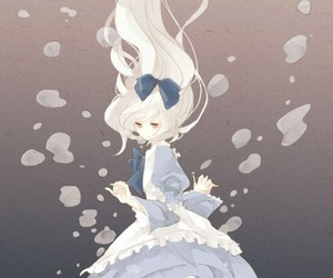 anime, alice, and water image