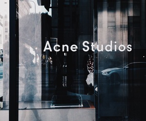 acne studios, blue, and fashion image