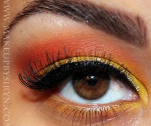eye shadow, eyeshadow, and make up image