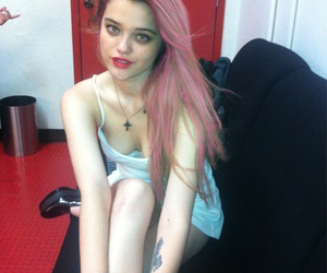 sky ferreira, pale, and blonde image
