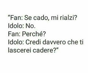 fan, frasi, and idol image