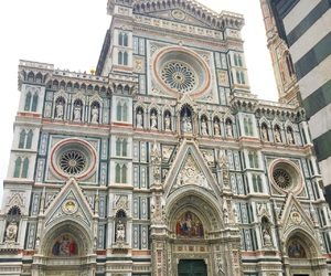 building, city, and florence image