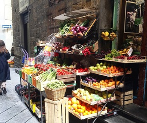 city, florence, and fruit image