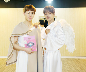 n, vixx, and hongbin image