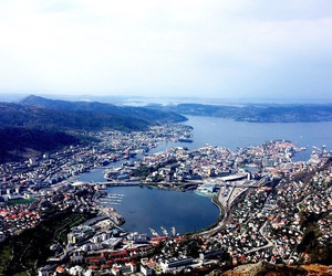 beautiful, city, and fjord image