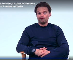 funny, interview, and Marvel image