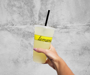 drink, food, and lemonade image