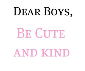 boys, kind, and text image