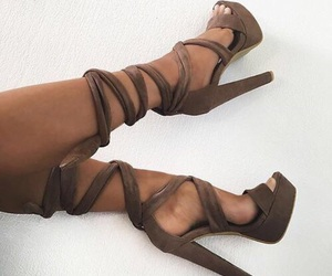 chic, heel, and high heel image