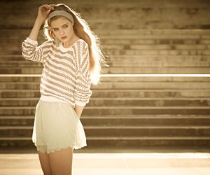 blonde, happy, and model image