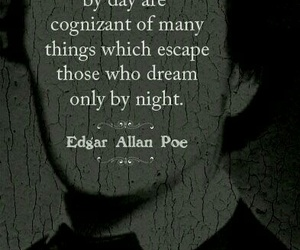 quotes, Dream, and edgar allan poe image