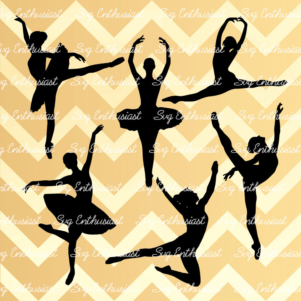 10 Dancers Svg Cut Files Ballerina Svg Files Hip Hop Dancers Svg Cricut Dxf Png Vinyl Eps Cut Files Clip Art Vector Silhouette