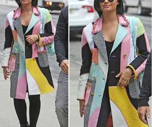 casual style and demi lovato image