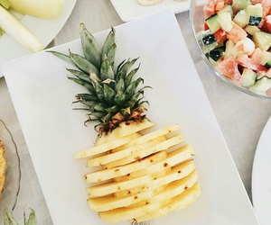 pineapple, yellow, and fruit image