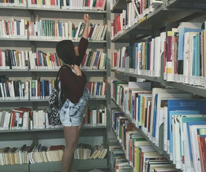 alternative, book, and girl image