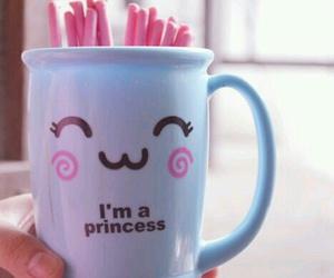 cup, princess, and kawaii image