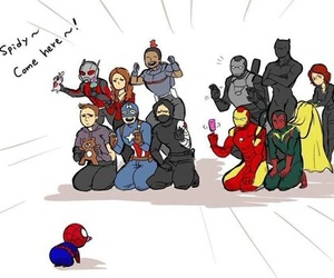 civil war, Marvel, and captain america image